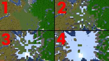 Random Deleted Chunk Minecraft Data Pack