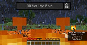 Pain Difficulty Minecraft Data Pack