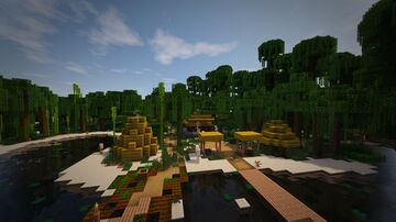 More Structures - add-on for William Wythers' Overhauled Overworld 1.17 Minecraft Data Pack