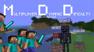 MDD | Multiplayer Dynamic Dificulty Minecraft Data Pack