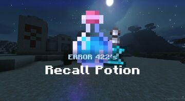 ERROR 422's Recall Potion Minecraft Data Pack