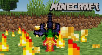 Custom Sword The Horseman's Blade Minecraft Data Pack