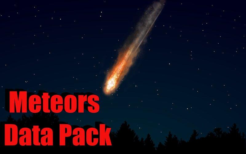 Meteors Datapack