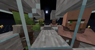 Infect Villagers on Peaceful and Easy Minecraft Data Pack