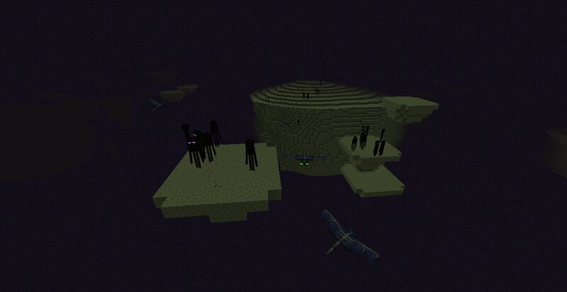 Phantoms tend to spawn in groups circling an island