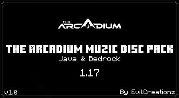 The Arcadium Music Disc Pack v1.0 (Java & Bedrock) Minecraft Data Pack