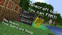 Minecraft but FART is OP! Minecraft Data Pack