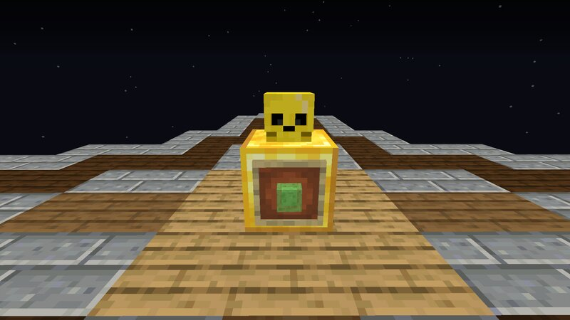 Golden Slime Layout Plus Block Needed In Item Frame