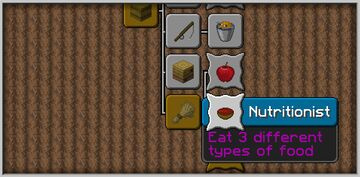 Happy nutritionist Minecraft Data Pack
