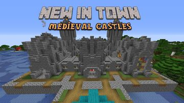 New in Town - Medieval Castles addon Minecraft Data Pack