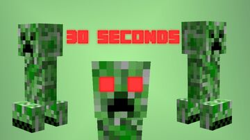 Minecraft, but creepers spawn every 30 SECONDS! by RalphOfficial! Minecraft Data Pack