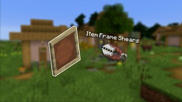 Invisible Item Frames Minecraft Data Pack