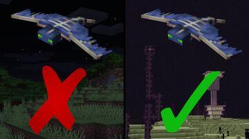 End Phantoms! Minecraft Data Pack