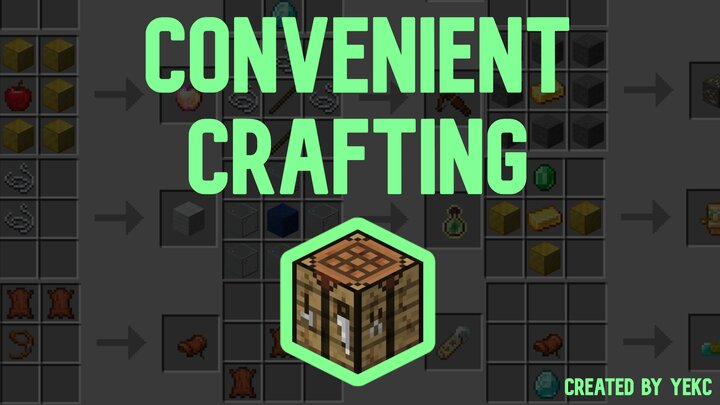 Craft anything you have ever wanted to craft! Created by Yekc