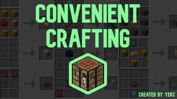 Convenient Crafts Minecraft Data Pack