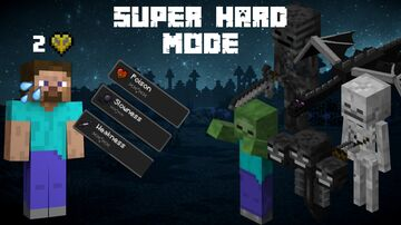 Super Hard Mode - Virtually Impossible Minecraft Data Pack