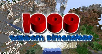1000 Random Dimensions! Minecraft Data Pack