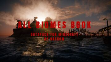 All Biomes Book Minecraft Data Pack