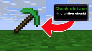 Minecraft But there are Custom Pickaxes Minecraft Data Pack