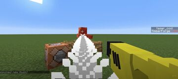 Tasers - Disarm, Disorient, and Damage Enemies Minecraft Data Pack
