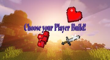 Choose Your Player's Build! Minecraft Data Pack