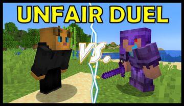 Enchanted Netherite Hitman - UNFAIR DUEL Minecraft Data Pack