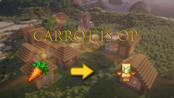 CARROT IS OP Minecraft Data Pack