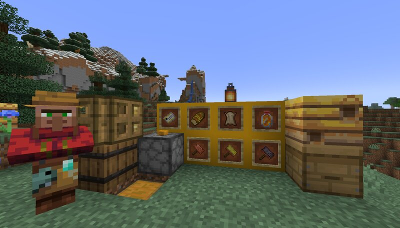 The Apiarist NPC next to the Honey Purifier and Beekeeper's Crafting Table!