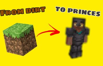 From dirt to Princes Minecraft Data Pack