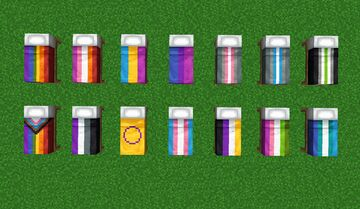 Pride Beds Data Pack! Minecraft Data Pack