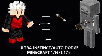 Ultra Instinct/Auto Dodge in Minecraft Minecraft Data Pack