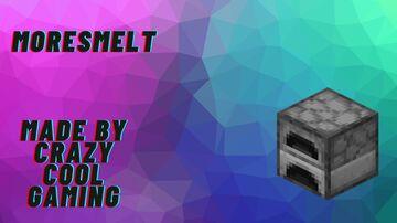 MoreSmelt 1.0a Minecraft Data Pack