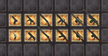 Guns [Multiplayer & Survival Friendly] [1.17+] Minecraft Data Pack