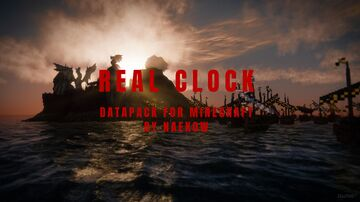 Real Clock Minecraft Data Pack