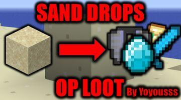 Minecraft,But Sand Drops OP Loot Minecraft Data Pack