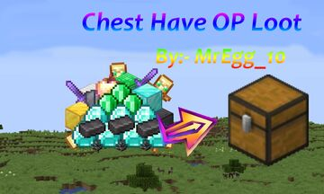 Chest Have OP Loot! Minecraft Data Pack