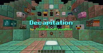 Decapitation[1.17x]: 360+ Mob Heads and ways to get them! Minecraft Data Pack