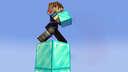 Minecraft, But Every Block You Walk On Change Into Diamond Blocks Minecraft Data Pack