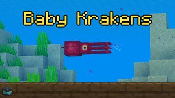 Chimerabot's Baby Krakens | Entry For Marine Wonders Datapack Contest | 1.17+ Minecraft Data Pack