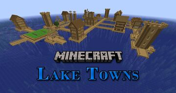Minecraft: Lake Towns Minecraft Data Pack