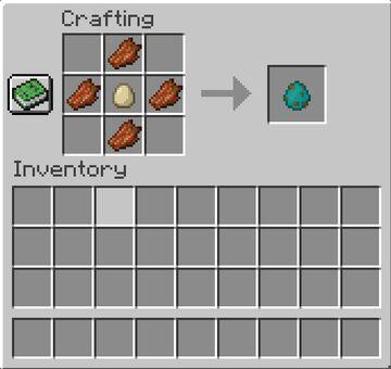 Craftable Spawn Eggs! Minecraft Data Pack