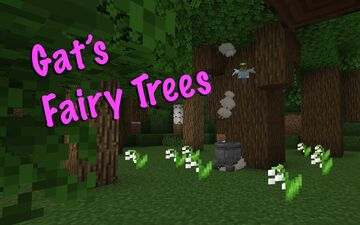 Fairy Trees & Cemeteries 1.0c Minecraft Data Pack