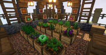Hoeless Farming [New Crops and Planters] Minecraft Data Pack