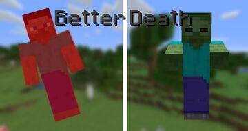 Better Death Minecraft Data Pack