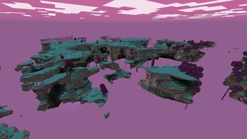 The Skylands Dimension Minecraft Data Pack