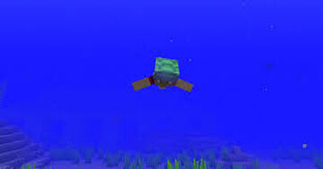 Minecraft But Swimming Gives You OP Loot! Minecraft Data Pack
