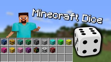 Colored Dice / Usable Minecraft Data Pack