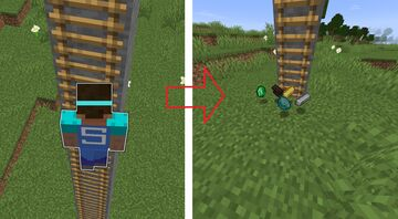 Minecraft but climbing up ladders brings valuable resources Minecraft Data Pack
