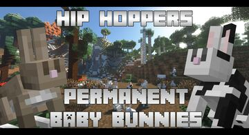 Hip Hoppers - Permanent Baby Bunnies Minecraft Data Pack