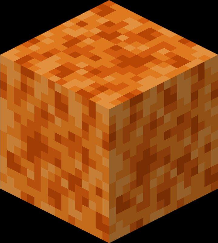 A wet lava sponge
